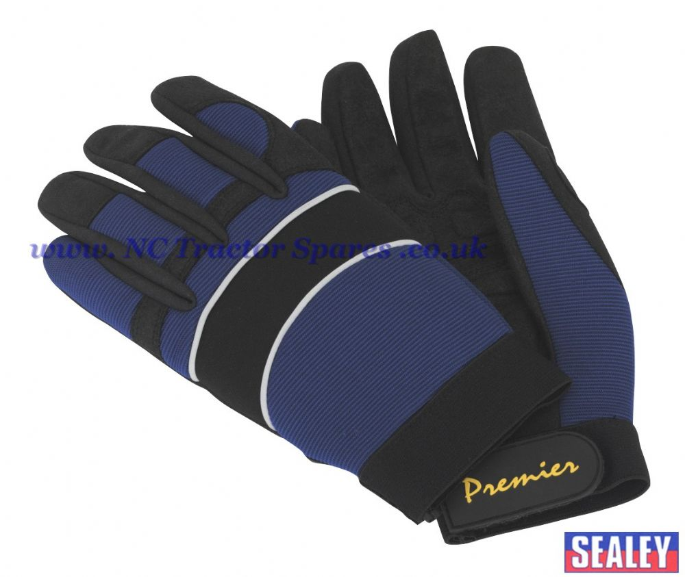 Mechanic's Gloves Anti-Collision - Medium